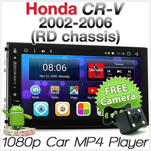Tunez Android MP3-Player für Aftermarket Honda CR-V CRV RD RD4 RD7 Serie 2002 2003 2004 2005 2006 2. Generation GPS Double DIN Stereo Radio HeadUnit