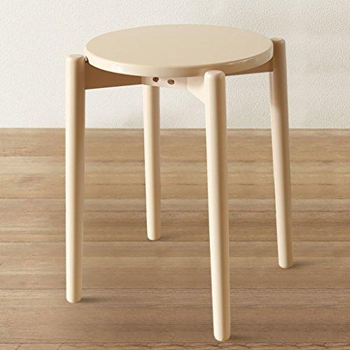 QPG Hocker Massivholz Hocker Home Hocker Mode Ideen Für Schuhe Hocker Moderne Tisch Bank ( Farbe : F ) Aktivität Runde Tisch