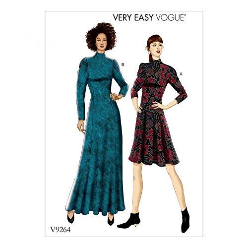 Vogue Damen Schnittmuster 9264Knit Fit & Flare Kleider - Flare Knit Kleid