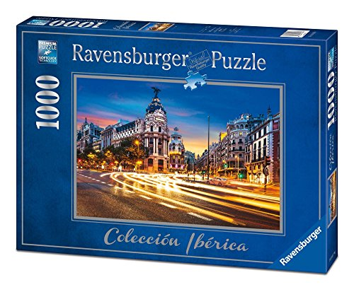 Ravensburger - Collection Iberian Madrid, Puzzle of 1000 Pieces, 70 x 50 cm (196180)