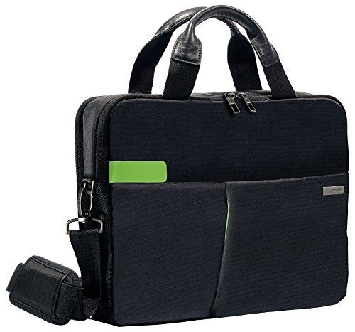 Leitz Business Laptop Tasche 13.3 Zoll, Geeignet für Laptop oder Ultrabook, Smart Traveller, Complete, Schwarz, 60390095