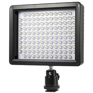 Lampe projecteur à 126 LED à fixer sur griffe d'appareil photo vidéo compatible caméscope Pour Canon Nikon LF181