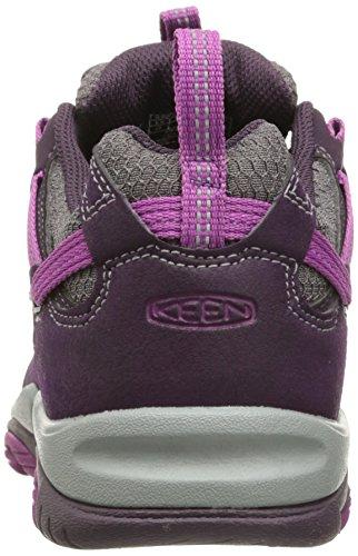 Keen Saltzman, Chaussures de Randonnée Basses Femme Rose (Plum/Purple Wine)