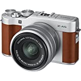 Fujifilm X-A5 Mirrorless Cameras with  XC 15-45mm f3.5-5.6 OIS Lens (Brown)