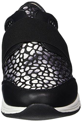 Bullboxer 159001f5s, Baskets Basses femme Noir - Schwarz (BLCK)