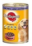 Pedigree | Adult Mit Herz, Leber & Pansen in Pastete | 12 x 400 g
