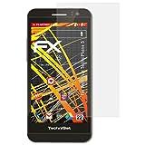 atFolix Folie für Technisat TechniPhone 5 Displayschutzfolie - 3 x FX-Antireflex-HD hochauflösende entspiegelnde Schutzfolie