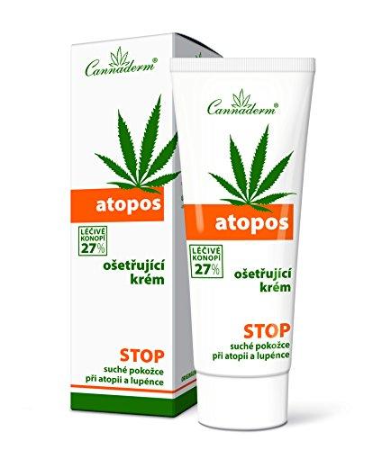 CANNADERM Atopos Creme gegen Schuppenflechte, Psoriasis, Dermatitis 75g