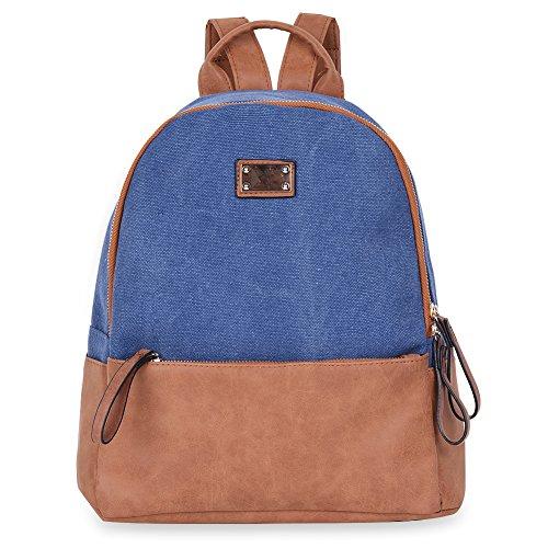 Imagen de vbiger bolso  informal para viajar para uso diario azul