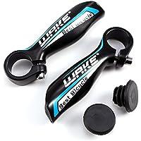 CLE DE Tous - Manillar Acoples para Bicicleta de Montaña MTB BMX Ciclismo Diámetro 22.2mm en Colores (Negro&azúl)