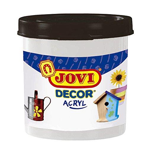 Jovi - Acryl, Caja de 6 Botes, Pintura multisuperficie, Color Blanco (67001)