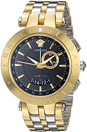 versace-v-race-gmt-alarm-del-hombre-oro-amarillo-acero-inoxidable-reloj