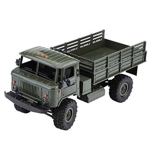 Militär LKW Spielzeug, 1:16 4CH Vierrad Montieren Fernbedienung Fahrzeug Kit mit Servo & Motor (Fernbedienung Für Lkw-spielzeug)