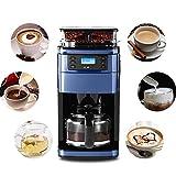 Elektrischer Kaffeemaschinenfilter, Programmierbare Espressomaschinen mit Karaffe, Design der WIFI Fernbedienung, Anti-Drops-System, BPA-frei, 900W, 1.5L Große Kapazität