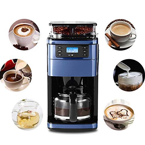 Espressomaschine Karaffe (Elektrischer Kaffeemaschinenfilter, Programmierbare Espressomaschinen mit Karaffe, Design der WIFI Fernbedienung, Anti-Drops-System, BPA-frei, 900W, 1.5L Große Kapazität)