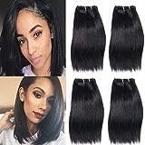 Best Brazilian Straight 4 Bundles - Brazilian 4 bundles 200g Human Hair Weave Straight Review