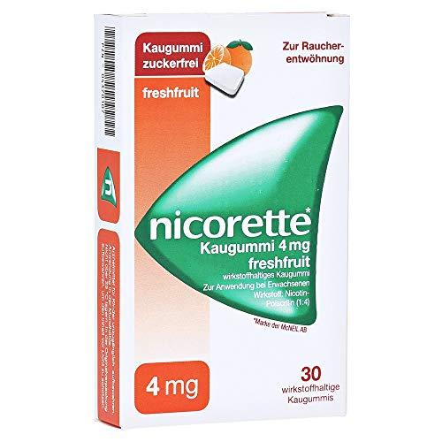 NICORETTE 4 mg freshfruit Kaugummi 30 St