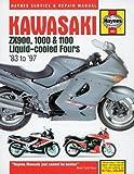 Kawasaki Zx900, 1000 and 1100 Liquid-Cooled Fours Service and Repair Manual (Haynes Service and Repair Manual) by Coombs, Mark, Haynes, John, Chilton Automotive Books (1988) Hardcover