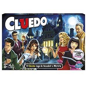 Hasbro Gaming - Cluedo (Hasbro 38712521) (versión en portugués)