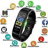 LIGE Fitness Tracker, Activity Tracker con Cardiofrequenzimetro Monitor del...