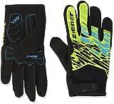 Ziener Kinder Chopok Long Bike Glove Handschuhe, Lime Green, M