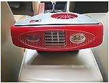 STEAM PANDA Calentador del coche Descongela portátil Defogger Ventilador de refrigeración de cerámica con manija plegable Encendedor de iluminación de