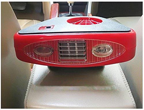 Preisvergleich Produktbild STEAM PANDA Auto Heater 12v 180w Defroster tragbare Defrosts Defogger Keramik Heizung Lüfter mit Klappgriff Plug In Zigarettenanzünder Beleuchtung