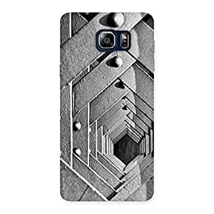 Delighted Block Cage Back Case Cover for Galaxy Note 5