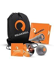 Relaxroll (Das Original) Faszien-Ball, Massage-BALL 10 cm