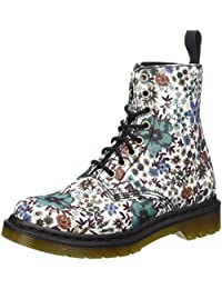 Dr. Martens Page Wanderlust Off White - Náuticos Mujer