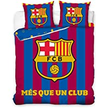 FC Barcelona més que un club doble juego de funda de edredón 100% juego de cama de algodón producto oficial tamaño: 200cm x 200cm