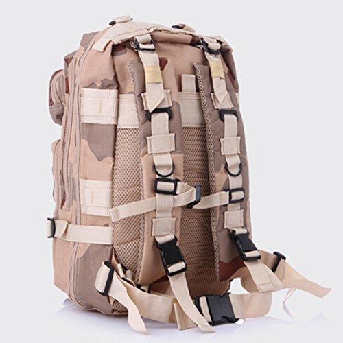 Outdoor Camouflage Rucksack Army Packs Bergsteigen Tasche Freizeit Rucksack,R M