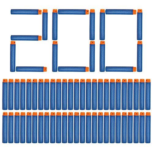 ubehör für Nerf Gun Box-verpackung Darts für Nerf N-Strike Elite Blasters Pistole(Blau) ()