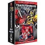 Coffret transformers prime : Transformers Prime : Orion Pax et Transformers Prime : Nemesis Prime + Une figurine officielle de 7 cm Transformers