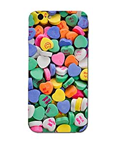 NIROSHA Printed Designer Unbreakable Hard Back Cover case for iPhone 6S Plus