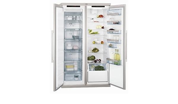 Aeg Kühlschrank Santo Temperatur Einstellen : Aeg santo s xnm side by side a kühlen l gefrieren