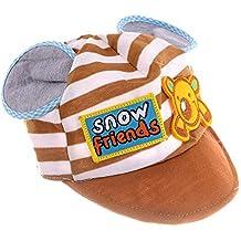 SHOP FRENZY Round Multi- Colour Designer | Trendy |Stylish Cartoon Printed Cotton Soft CAPS HAT for Kids/Baby/BOY/Girls (1-2 Years)