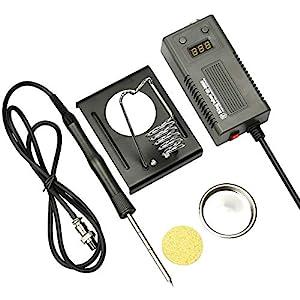 E·Durable Soldador estaño 60W 220V Kit del Soldador 200 ℃ a 450℃