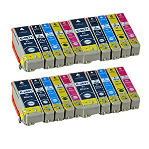 20 Compatible Ink Cartridges for Epson 26 X L Expression Premium XP-510 XP-600 XP-605 XP-610 XP-615 XP-700 Printer XP 510 XP-600 XP de 800