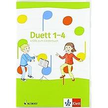 Duett - Neubearbeitung / 4 Audio-CDs zum Liederbuch 1.-4. Schuljahr