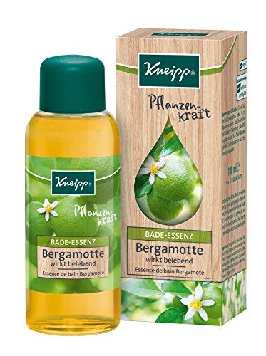 Bade-Öl Flasche (Kneipp Bade-Essenz Pflanzenkraft Bergamotte, 3er Pack(3 x 100 ml))
