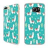 Premium Handyhülle 'Lama' für Samsung Galaxy - Silikon | Alpaca | Alpaka, Handy:Samsung Galaxy A5 (2016), Hüllendesign:Design 2 | Silikon Klar