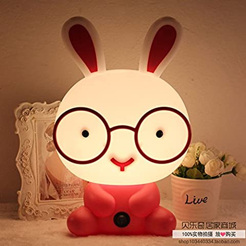 Such creative cute fashion plug-in lamp cartoon baby baby Nightlight children bedroom bedside lamp - New Baby Arrangement