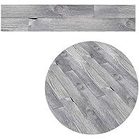 5M autoadhesivo de madera del grano contacto con el suelo papel de cubierta de PVC decorativo desprendible de la película Wall Stickers