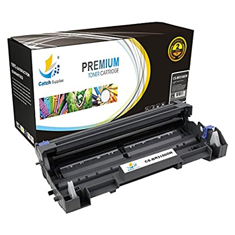 Catch Supplies DR3100 Premium Replacement Drum Unit DR-3100 Compatible with Brother HL-5250dn 5240 5350dn 5340d, MFC-8860dn 8870dw, DCP-8085dn Laser Printers |25,000