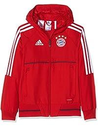 adidas FCB PRE JKT Y Chaqueta FC Bayern de Munich f4d84ed1e4f