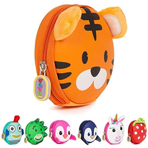 c439089fac boppi Tiny Trekker Portamonete portachiavi da viaggio piccolo borsellino da  viaggio borsetta portachiavi con zip -