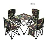 Table pliante camping en plein air en tissu Oxford Barbecue Beach Park imperméable durable ultra léger Table de pique-nique...