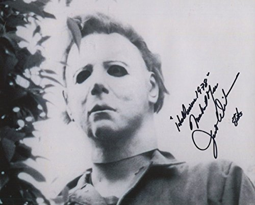 Jim Winburn Signed John Carpenter Halloween 1978 Michael Myers 10x8 COA PJ - 1978 Myers Michael Halloween