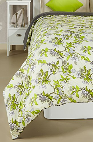 Amazon Brand - Solimo Microfibre Printed Comforter, Double (Spring Blossom, 200 GSM) Image 3
